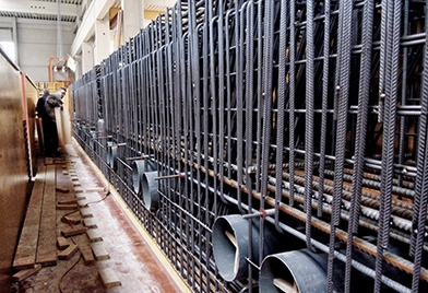 Bauunternehmen Guenther Beton Betonfertigteilwerk