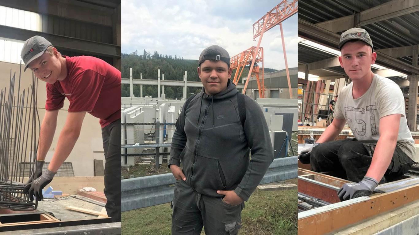 Duales Studium und Ausbildung Bauunternehmung Günther