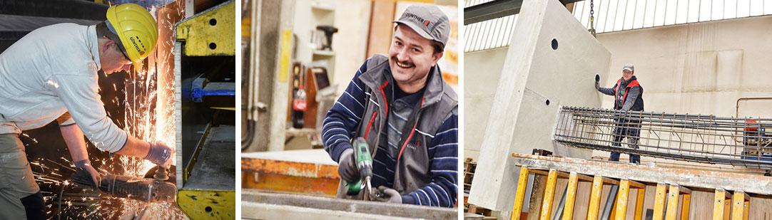 Guenther-Bauunternehmen-Stahlbeton-hochbau-tiefbau_Collage-Philosophie_V4